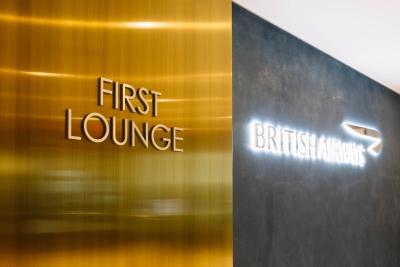 BA JFK T7 new first lounge