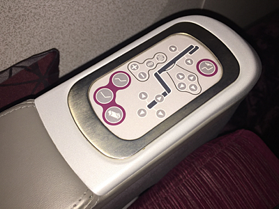 business class flight from Bali to Doha with Qatar Airways