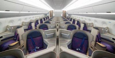 Air China A350 business class