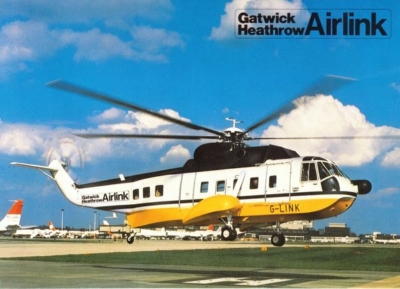 Airlink Heathrow Gatwick poster