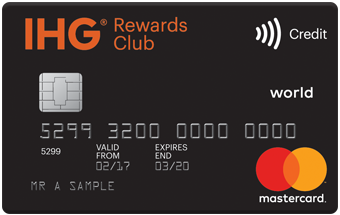 IHG Rewards Club Premium Mastercard review