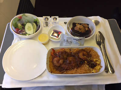 Review of Malaysian Airlines Business Class from Kuala Lumpur to Jakarta