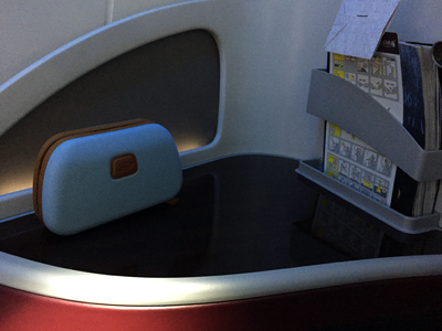 Review of Qatar Airways Business Class - Doha to London Gatwick