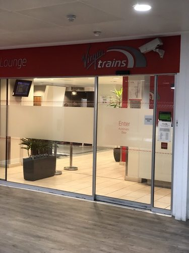 Virgin Trains Euston lounge review