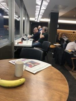 Virgin Trains Euston lounge review