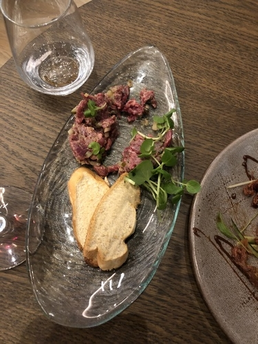 Crowne Plaza Manchester Oxford Road beef tartare