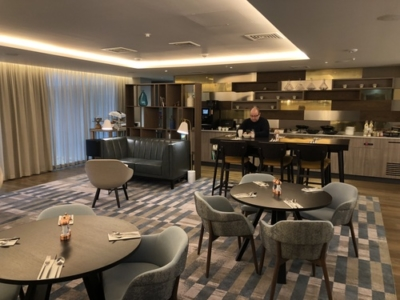 Crowne Plaza Manchester Oxford Road club lounge review