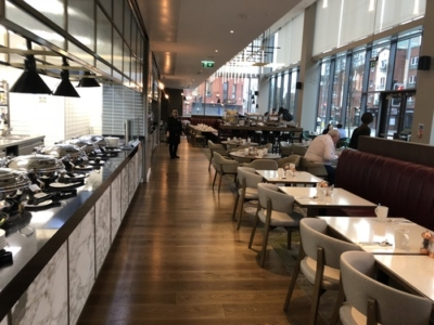 Crowne Plaza Manchester Oxford Road breakfast review