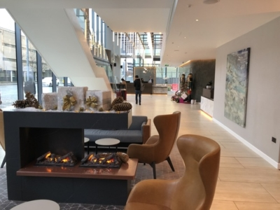 Crowne Plaza Manchester Oxford Road lobby reception review