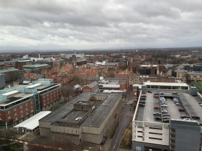 Staybridge Suites Manchester Oxford Road view