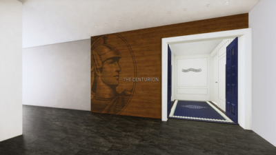 Amex heathrow centurion lounge entrance