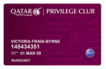 Qatar Privilege Club sign up bonus