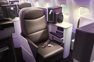Virgin A330-200 new Upper Class seats