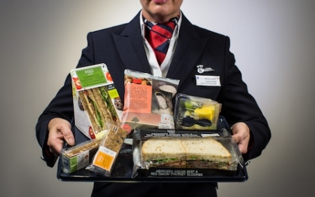 British Airways and Marks and Spencers food