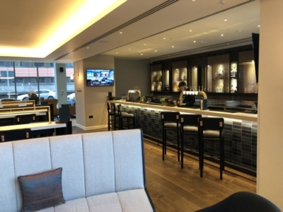 Crowne Plaza Manchester Oxford Road bar review