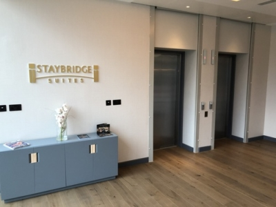 Staybridge Suites Manchester Oxford Road lobby review