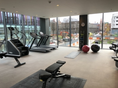 Crowne Plaza Manchester Oxford Road gym review