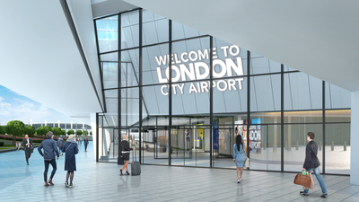 London City Airport stops work on half-built £170m terminal extension