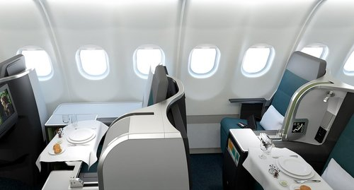 Aer Lingus A321LR business class with Avios