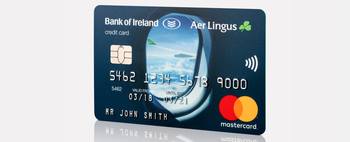 Aer Credit Card for Aer Lingus and Bank of Ireland