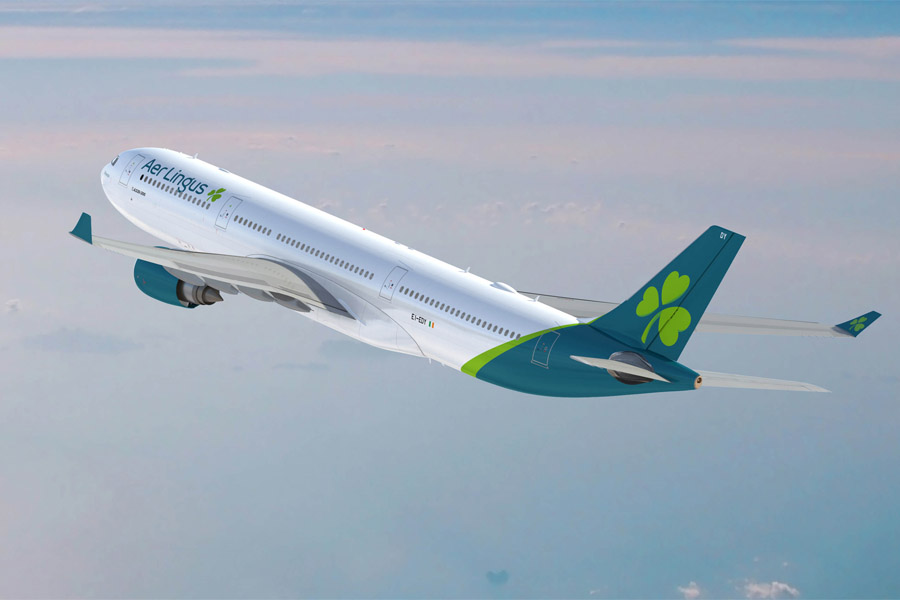 Aer Lingus new logo and livery