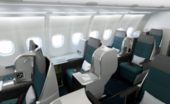 Aer Lingus A321LR business class with Avios