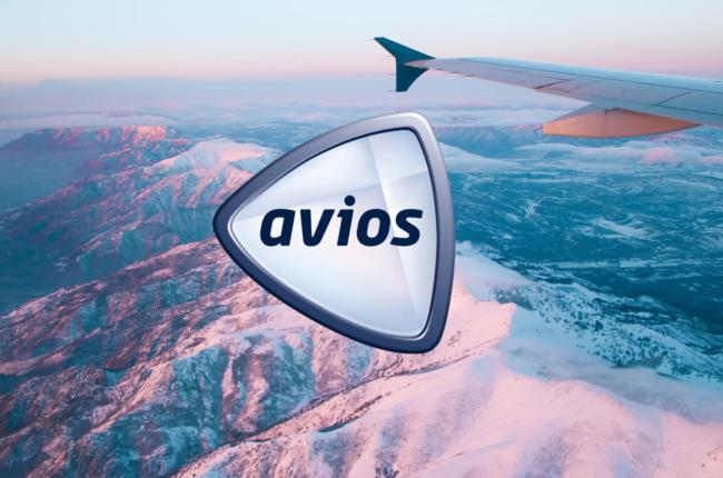 Avios suitcase