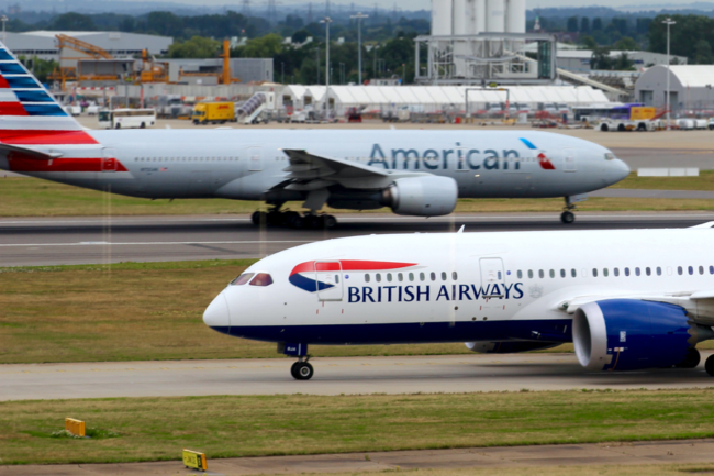 How to upgrade british airways flight using american airlines miles