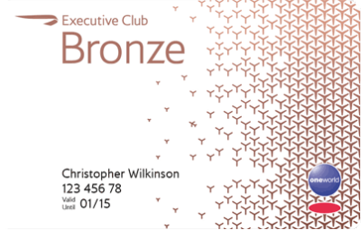 What is the British Airways Executive Club Bronze telephone number?
