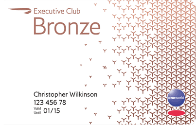 Do I drop from Bronze to Blue in British Airways Executive Club?