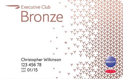 What are the benefits of British Airways Executive Club Bronze status?
