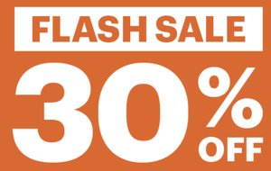 FIVE DAYS ONLY, ENDS FRIDAY: 30% off UK & Ireland bookings