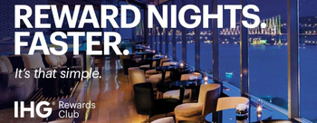 IHG Reward Nights Faster Spring promotion 2019