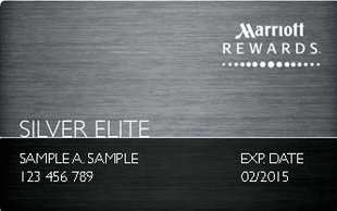 Marriott Silver status with Starwood American Express Card SPG