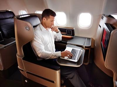 Qantas A380 new business class