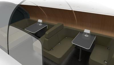 Qantas A380 new lounge
