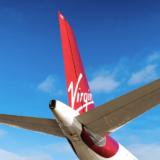 Virgin Atlantic tail fin