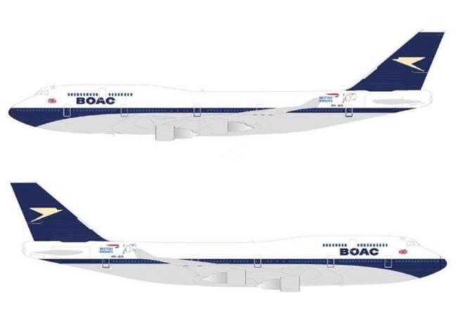 British Airways bringing back BOAC livery