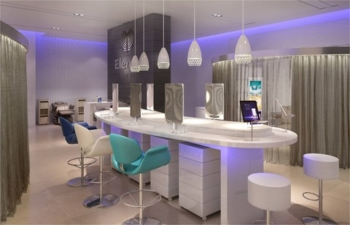Who can use the British Airways lounge Spa?