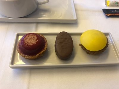 Air France business class review Paris Dubai