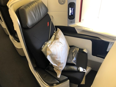 Air France business class review Boeing 777-300ER