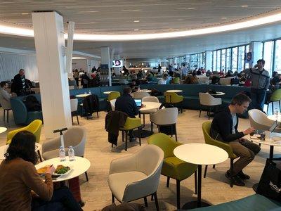 Air France business class lounge review Paris Charles de Gaulle Terminal 2E