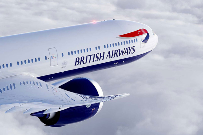 British Airways BA 777X 777 9X