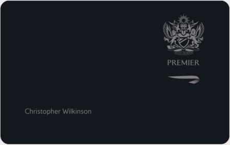 How do you get a British Airways Executive Club Premier card?