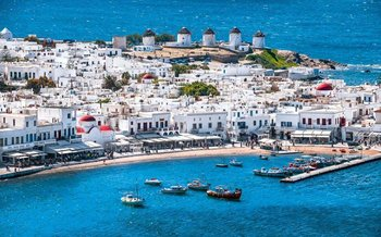 British Airways Stansted Mykonos