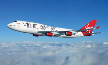 Where is Virgin Atlantic currently flying?