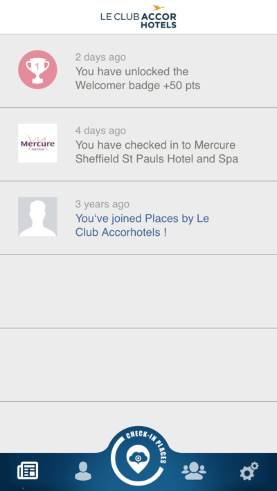 Accor places app