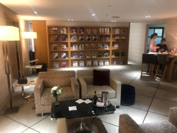 London City Airport First Class Lounge