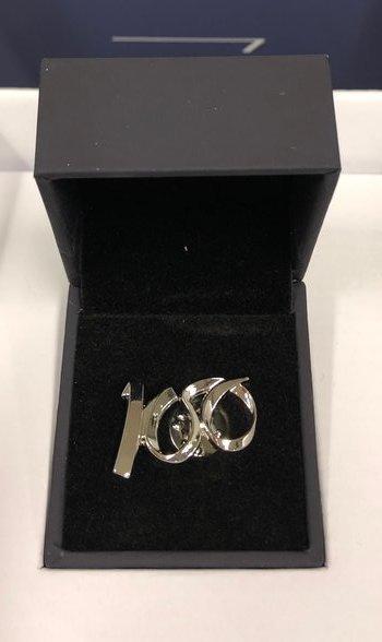 British Airway 100 years pin badge
