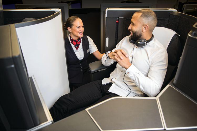 British Airways Club Suite new business class seat